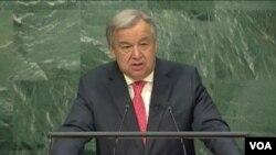 聯合國新秘書長古鐵雷斯