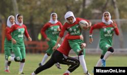 Sejumlah perempuan Iran tengah berolahraga. (Foto: Courtesy/MizanOnLine)