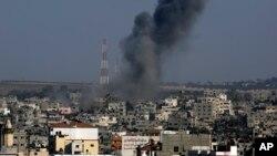 اسرائیل می گوید مواضع حماس در شمال غزه را هدف قرار داد.