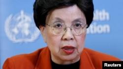 Shugabar hukumar kiwon lafiya ta duniya Margaret Chan