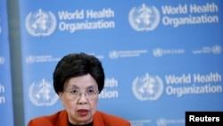 지난 1일 마가렛 찬 세계보건기구 사무총장이 1일 스위스 제네바에서 지카 바이러스에 관한 긴급 기자회견을 하고 있다. (자료사진)