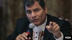El presidente ecuatoriano, Rafael Correa, propuso que la CELAC sustituya a la OEA.