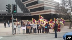 民运团体抗议美国广播董事会取消美国之音藏语节目