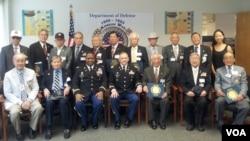 미 국방부가 한국전쟁 정전 60주년을 기념해, 지난 21일 한인 참전용사 17명에게 감사장을 수여했다.