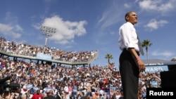 En un acto este martes en Delray Beach, Florida, el presidente enardeció a una multitud de seguidores con un incendiario discurso