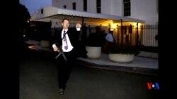 2014-09-21 美國之音視頻新聞: 白宮特工處加強白宮外圍安全戒備