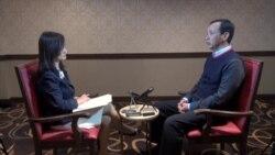 美国之音独家专访台湾总统候选人、国民党主席朱立伦