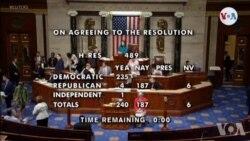 Etazini: Chanm Depite yo Koindane Deklarasyon Prezidan Trump Kont 4 Depite Demokrat yo