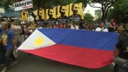 PHILIPPINES CHINA PROTEST VO