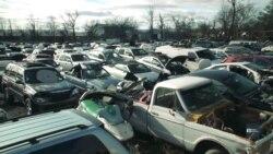 Цвинтар автомашин - багатомільярдна індустрія переробки автомобілів та задоволення для автолюбителів. Відео