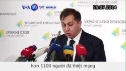 LHQ cho biết hơn 1100 người thiệt mạng trong chiến sự ở Ukraine