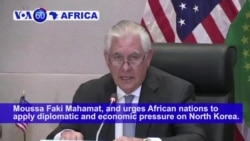VOA60 Africa - Tillerson Reaffirms US Commitment to Africa