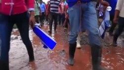 Campesinos nicaraguenses denuncian a Ortega en Washington