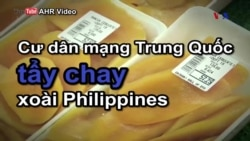 Cư dân mạng Trung Quốc tẩy chay xoài Philippines