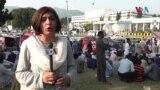 میڈیا اتھارٹی بل کے خلاف اسلام آباد میں صحافیوں کا دھرنا