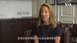 香港美國商會指在港美企需重新評估經營風險