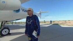 Richard Branson, pionnier de l'astro-tourisme