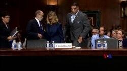 2018-09-28 美國之音視頻新聞: 參院司法委員會結束卡瓦諾提名聽證 預備儘快全院表決