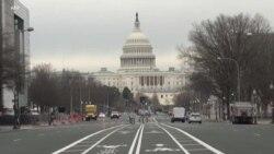总统就职典礼前首都华盛顿进一步强化安全措施