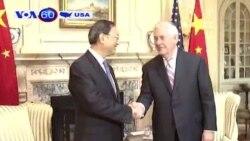 """Mỹ- Trung mong một quan hệ """"đôi bên cùng có lợi"""" (VOA60)"""