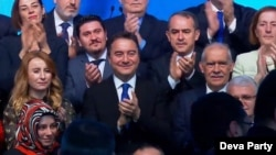 Ali Babacan once a close ally of Turkish President Recep Tayyip Erdogan launches Deva Party, promising a new Turkey of greater freedoms and rights. (Courtesy of Deva Party)