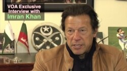 VOA Exclusive: Pakistan's Imran Khan Urges Taliban to Negotiate