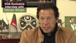 VOA Exclusive: Pakistan's Imran Khan Urges Taliban to Negotiate