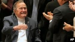 美国前总统老布什 (2014年资料照片)