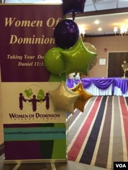 Women of Dominion 2015 Banner