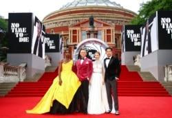 مراسم فرش قرمز اولین اکران جهانی فیلم «زمانی برای مردن نیست» در لندن با حضور چند تن از بازیگران و کارگردان فیلم - ۲۸ سپتامبر ۲۰۲۱