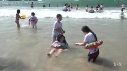 Palestina : Watoto waiona bahari kwa mara ya kwanza
