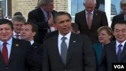 Para pemimpin G8 mengakhiri KTT di Deauville, Perancis.
