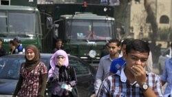 مصر اقداماتی را برای برقراری نظم اعلام می کند