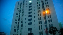 """Tòa nhà của 'đơn vị 61398"""" của Quân đội  Giải phóng Nhân dân Trung Quốc ở ngoại ô thành phố Thượng Hải. Công ty Mandiant cho biết tìm thấy dấu vết của các cuộc tấn công vào các công ty Mỹ trong nhiều năm qua xuất phát từ đơn vị này"""