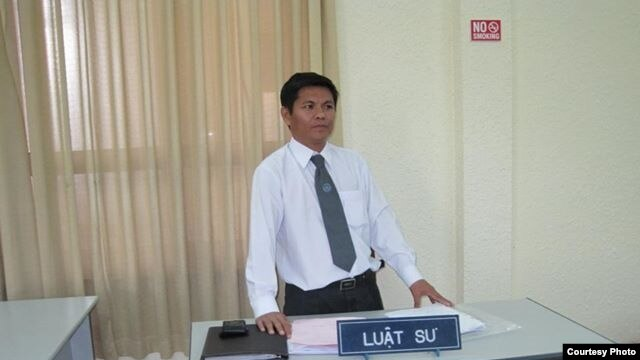 Luật sư Nguyễn Thanh Lương.