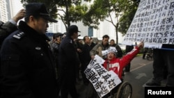 Chinese Protest Media Censorship