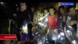 Thái Lan: 13 người kẹt trong hang động được giải cứu