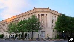 미국 워싱턴의 법무부 건물 (자료사진)