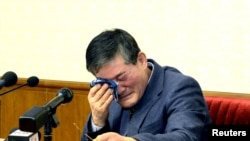 Kim Dong Chul, divonis 10 tahun kerja paksa di Korea Utara atas tuduhan subversi (Foto: dok).