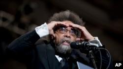 FILE - Cornel West recently left his job at Harvard. (AP Photo/Andrew Harnik)