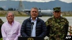 El presidente Ivan Duque instó nuevamente a Cuba, anfitrión y uno de los garantes del proceso de paz, para enviar a casa a los rebeldes del Ejército de Liberación Nacional (ELN).