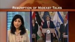ON THE LINE: Resumption of Mideast Talks