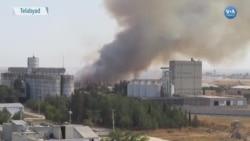 Tel Abyad Şehir Merkezinde Şiddetli Çatışmalar