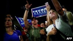Americans take to the streets over U.S. post-election uncertainty