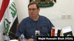 پاکستان میں عراق کے سفیر علی یاسین محمد کریم
