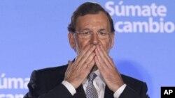 ນາຍົກລັດຖະມົນຕີທີ່ຖືກເລືອກຕັ້ງໃໝ່ຂອງສະເປນ ທ່ານ ມາເຣຍໂນ ຣາຈອຍ (Mariano Rajoy)