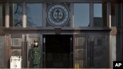 中国最高法院(资料照片)
