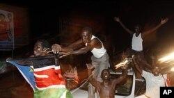 南苏丹人民7月9日欢庆独立