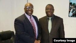 VaHarry Thomas naVaMorgan Tsvangirai