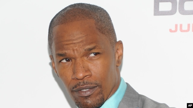 "Actor Jamie Foxx attends the ""White House Down"" premiere at the Ziegfeld Theatre, June 25, 2013 in New York."